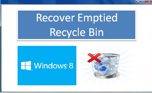 Tool to recover data from emptied recycle bin